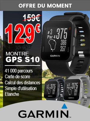 Montre S10 Garmin en Destockage